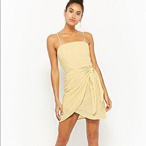 Forever21 Striped Seersucker Cami Dress